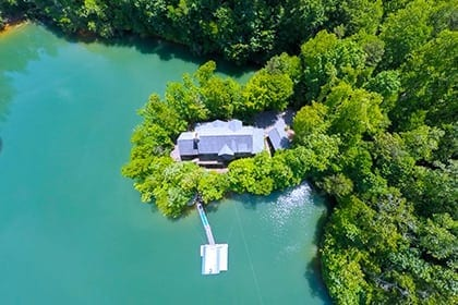 Find Property on Fontana Lake in the Great Smoky Mountains